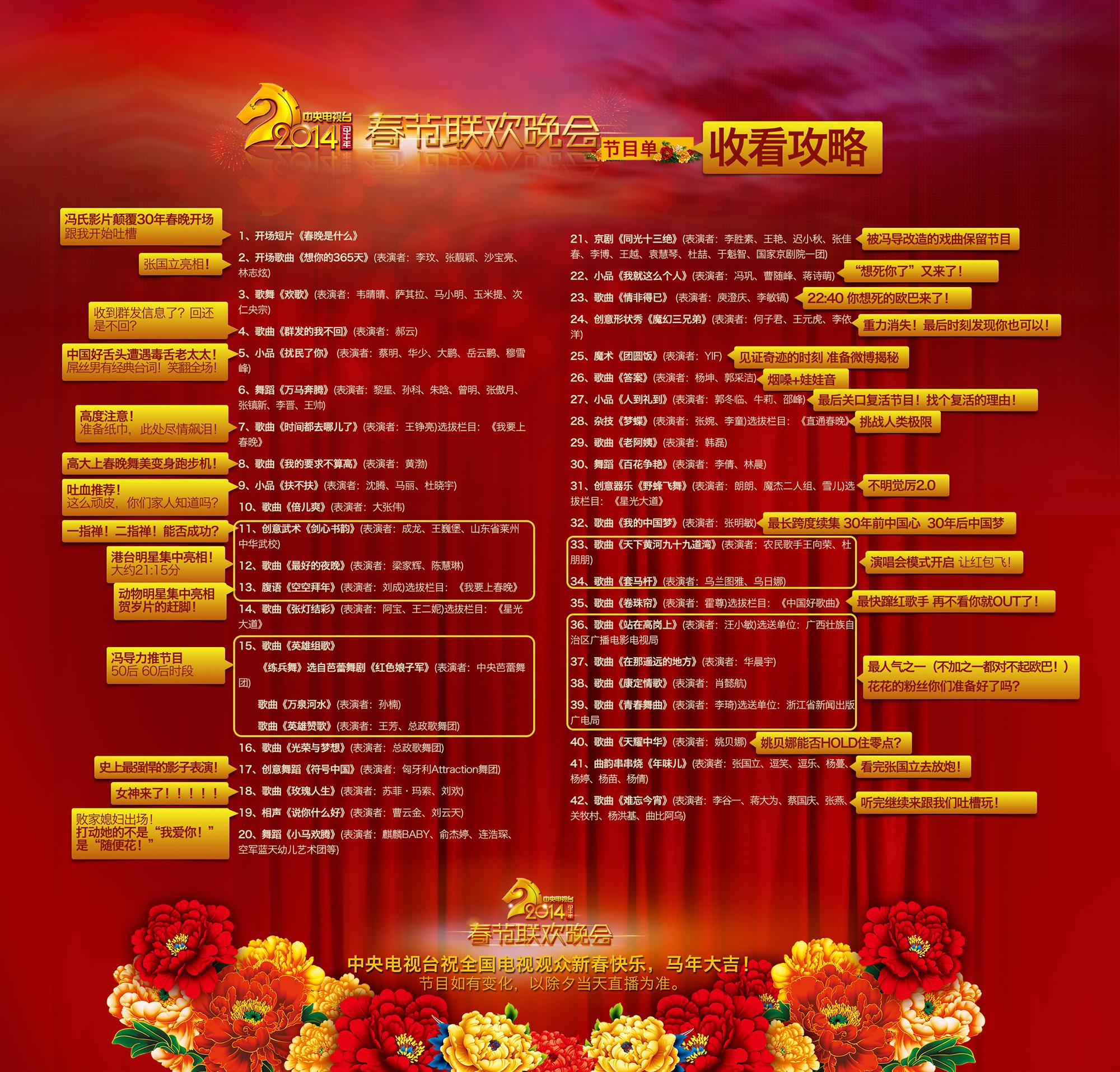 杜喆京剧中国脊梁曲谱-2014春晚